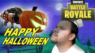 fortnite BATTLE ROYALE, HAPPY HALLOWEEN, RPG CALABAZA, GAMEPLAY ESPAÑOL-
