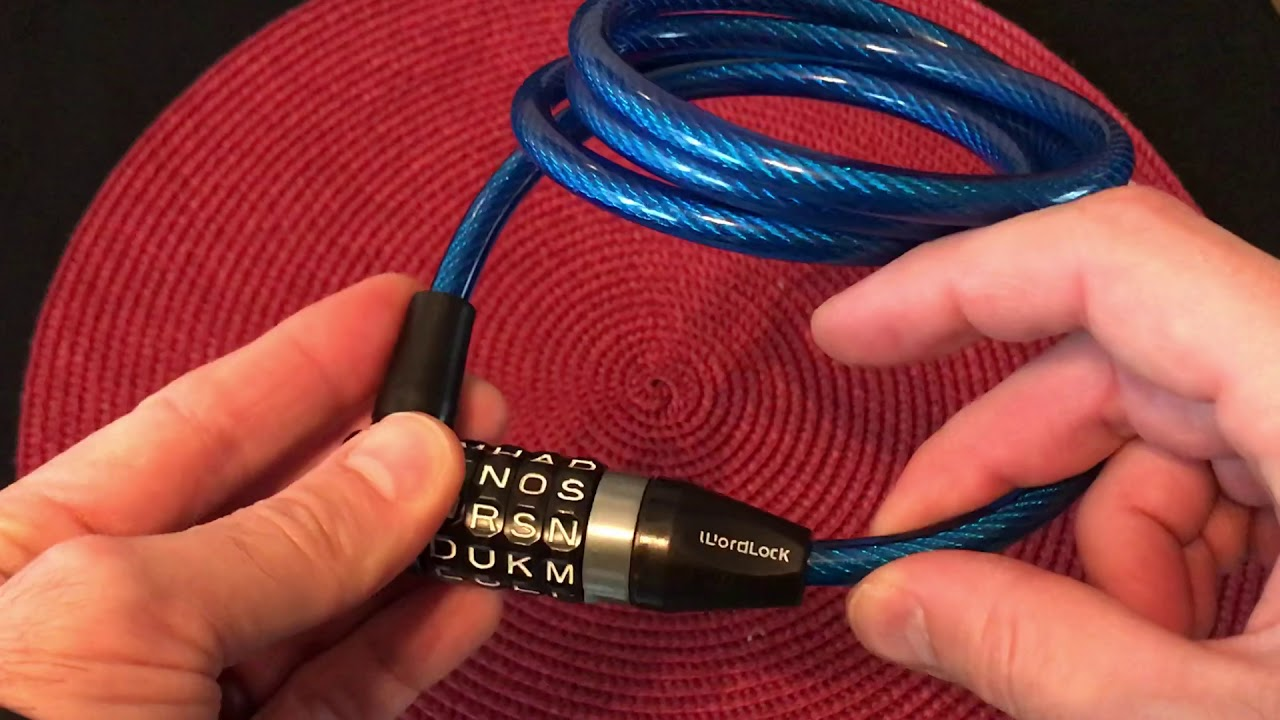 Wordlock Bike Lock
