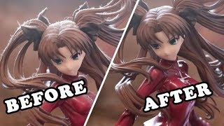 How to clean a dirty figure!