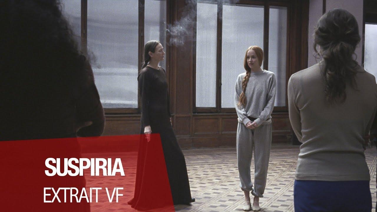 """SUSPIRIA (Dakota Johnson, Tilda Swinton, Chloë Moretz) - Extrait  """"La première danse de Susie"""" VF"""