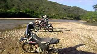 Atravessando Rio Bananal Grão Mogol MG