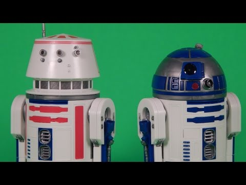 Bandai Star Wars R2-D2 and R5-D4 1:12 Scale Model Kit Build and Review