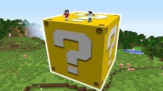 Que Hay Dentro De Un Lucky Block Gigante  - Somos Diminutos - Mobs Gigantes 4 Cap 15