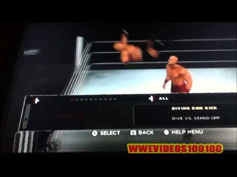 WWE '13 Wade Barrett Updated Moveset (How To Do Bullhammer & More)