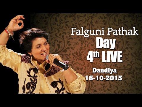 Falguni Pathak | Raas Garba 2015 | Ghatkopar - Mumbai Day 4 -16th Oct 2015