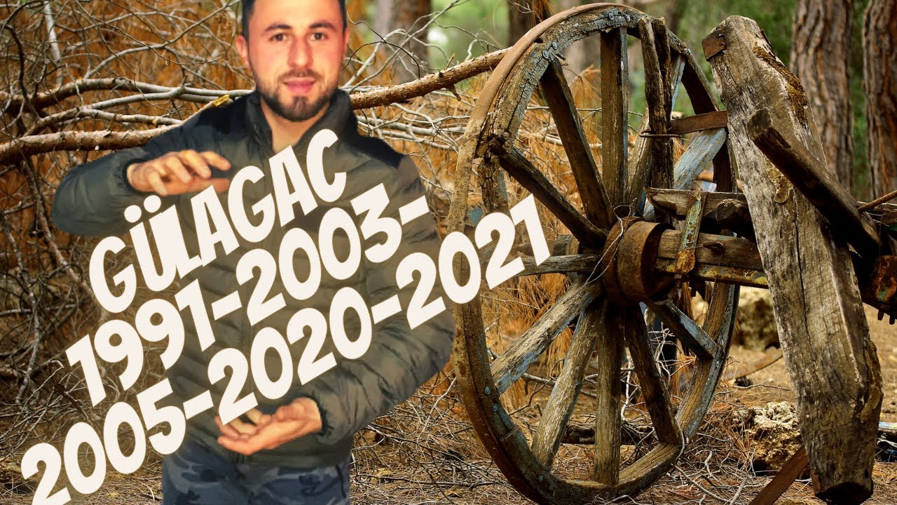 Download GÜLAĞAÇ - 1991-2003-2005-2020-2021 ESKİ VE YENİ - YAŞAM - DEĞİŞİM - HAYAT TARZI