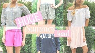 HUGE SUMMER HAUL⎜lululemon, tj maxx, pacsun & more