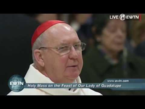 Hl. Messe mit Papst Franziskus am Fest Unserer Lieben Frau von Guadalupe (12.12.2016)
