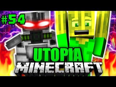 ÜBERFALL des IMPERIUMS?! - Minecraft Utopia #054 [Deutsch/HD]
