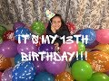 My 13th birthday party with friends! | Challenges, games and fun!