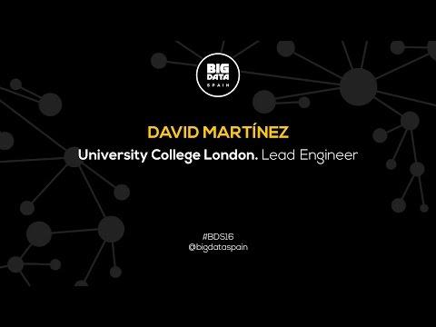 Interview to David Martinez at Big Data Spain 2016