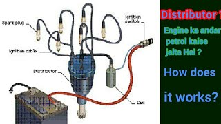 How spark plug produce spark | Distributor working | Ignition system explained
