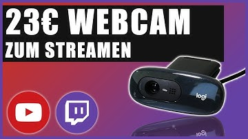 GÜNSTIGE WEBCAM ZUM STREAMEN | 23€ LOGITECH C270 | Deutsch / German
