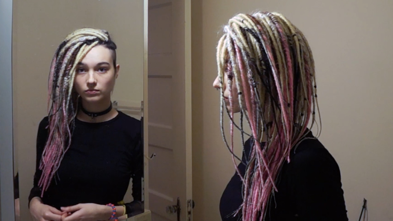 Hair Transformation New Way To Install Dreads Youtube