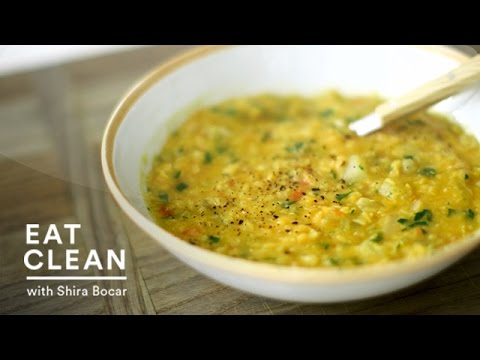 Red Lentil Soup with Turnips - Eat Clean with Shira Bocar - YouTube