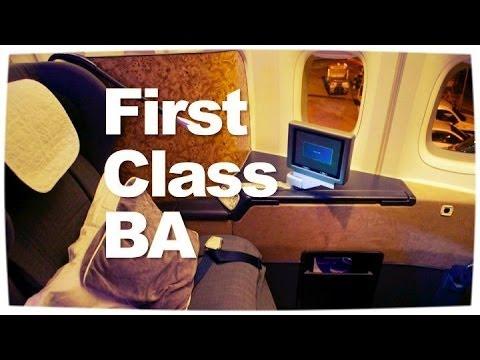 British Airways First Class Flight   747 First Class London ✈ Bangkok Reviewed