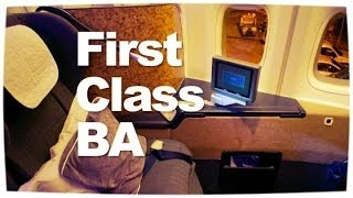 British Airways First Class Flight | 747 First Class London ✈ Bangkok Reviewed