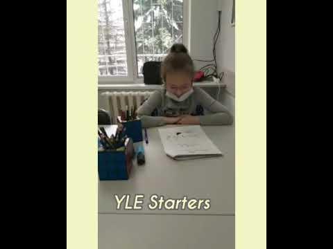 Кембриджский экзамен по английскому языку для детей YLE Starters