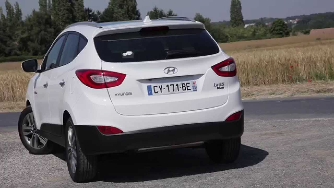 essai hyundai ix35 crdi blue drive youtube. Black Bedroom Furniture Sets. Home Design Ideas