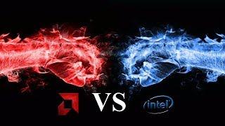 видео Какой выбрать процессор AMD или Intel для игр?