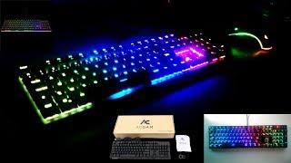 Déballage et Review du clavier mécanique RGB AG-109R de ACGAM!!!