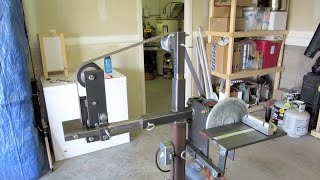 "Homemade 2"" X 72"" Belt Grinder And 9"" Disc Sander Combo"