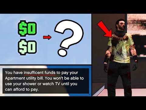 What Happens in GTA Online When You Run Out of Money!