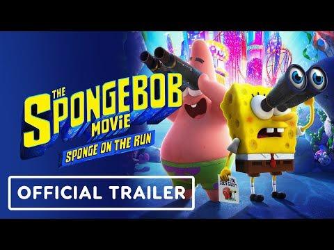 The SpongeBob Movie: Sponge On The Run  - Official Trailer (2020) Keanu Reeves