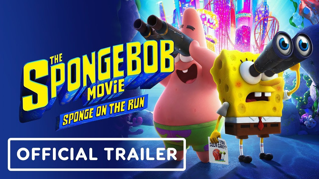 O filme Bob Esponja: Bob Esponja em Fuga - Trailer Oficial (2020) Keanu Reeves + vídeo