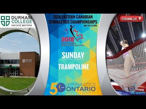 Sunday - Trampoline - 2018 Eastern Canadian Gymnastics Championships
