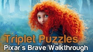 pixar's Brave The Video Game - Triplet Bear Puzzles  WikiGameGuides
