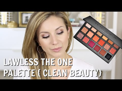 GRWM Using LAWLESS The One Palette {Clean Beauty} Surgery Updates