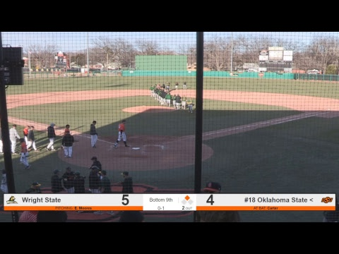 Oklahoma State Cowboy Baseball vs. Wright State - Game 3 Mp3