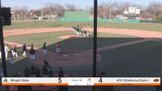 Oklahoma State Cowboy Baseball vs. Wright State - Game 3 Video