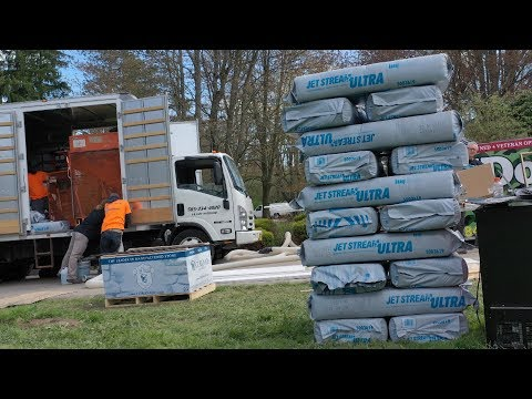 Creating a Comfortable, Energy Efficient Home with Knauf Insulation | Military Makeover with Montel