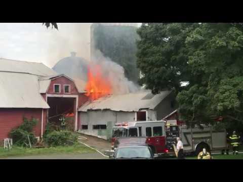 743 Murdock Avenue | Barn Fire | Structure Fire