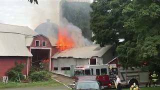 743 Murdock Avenue | Barn Fire | Structure Fire
