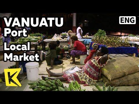 【K】Vanuatu Travel-Port Vila[바누아투 여행-포트빌라]로컬 마켓, 행복한 상인들/Local Market/Fruit/People