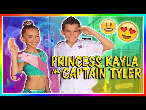 BEING A PRINCESS AND CAPTAIN OF THE SHIP | We Are The Davises