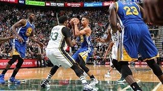 Golden State Warriors vs Utah Jazz - November 30, 2015