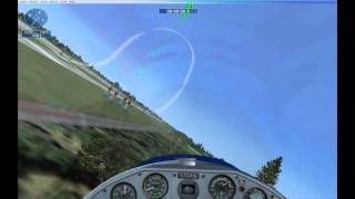 Red Bull Time Trial - 1:04min - [HD] Flight Simulator X Acceleration Racing