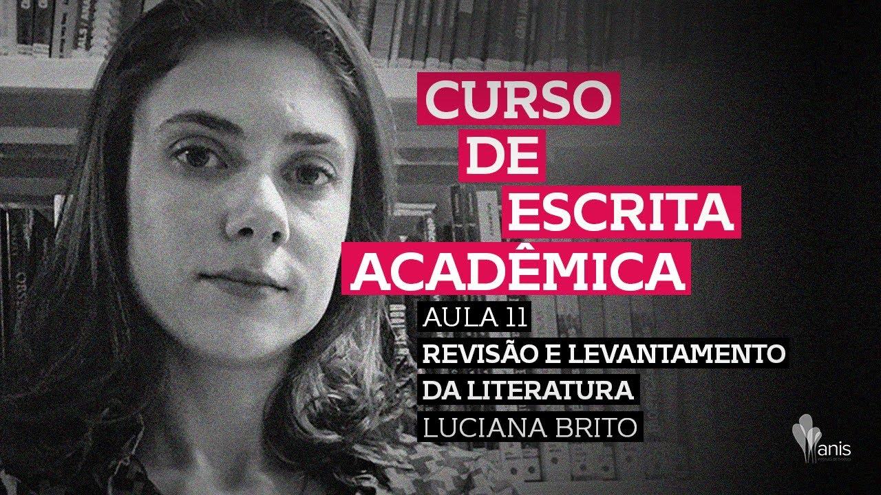 Curso de Escrita Acadêmica - Revisão e Levantamento da literatura