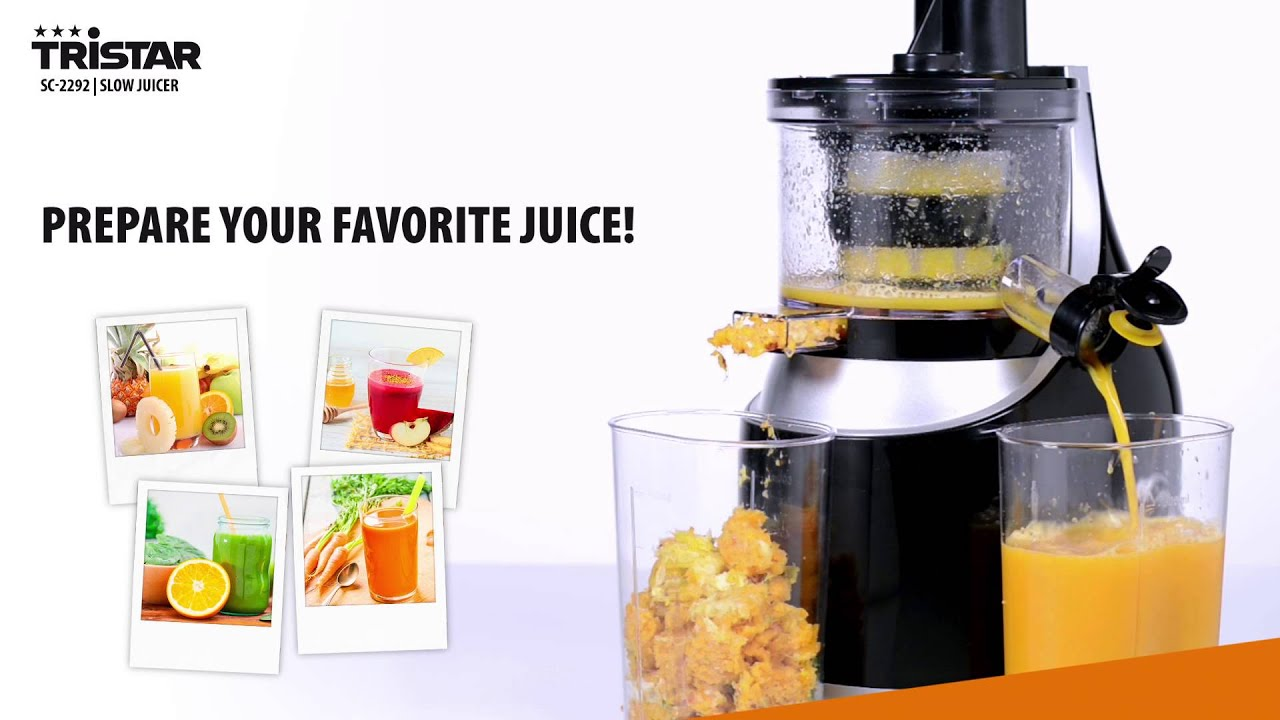 Tristar Slow Juicer Review : Tristar slow juicer Husholdningsapparater
