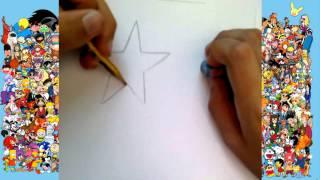 Como Desenhar Uma Estrela | How To Draw A Star