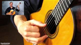 The PIMA Arpeggio Pattern for Classical Guitar Technique