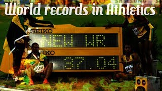 World records in athletics (Men's) ● HD ●