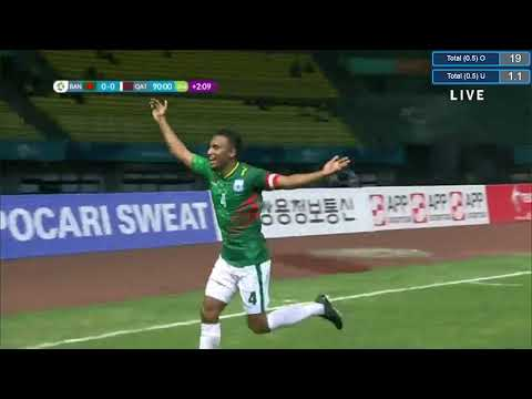Bangladesh 1-0 Qatar Highlights