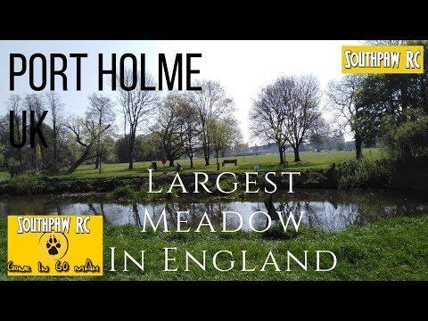 Port Holme Huntingdonshire UK 2019 - Drone Flight