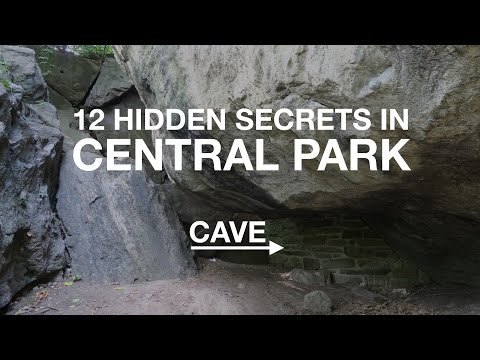 12 HIDDEN SECRETS in Central Park | New York City