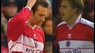 Middlesbrough v Coventry City 2000-01 BOKSIC GOAL NOEL WHELAN COMEDY OG